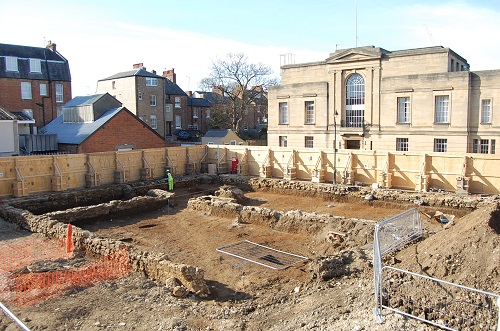 Excavation at St Cross College, Oxford