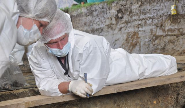 Anthropologists in DNA suits